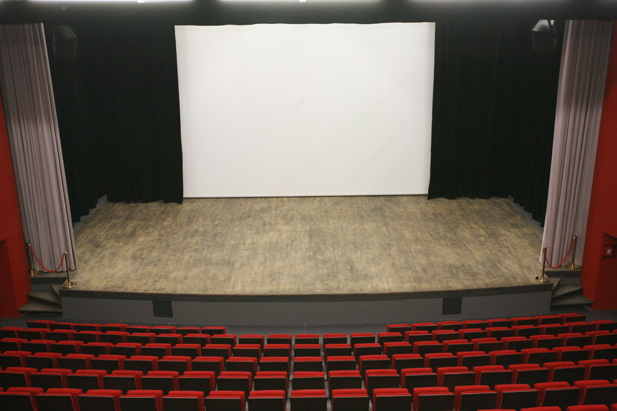 Vue de l'auditorium à Fourques