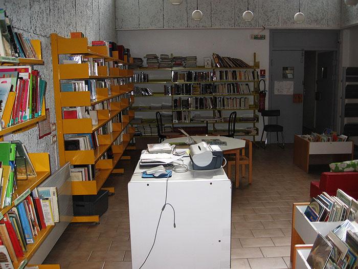 Bibliothèque de Fourques
