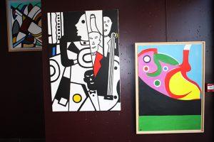 peintre à Fourques