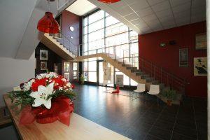 Hall du centre Georges Brassens