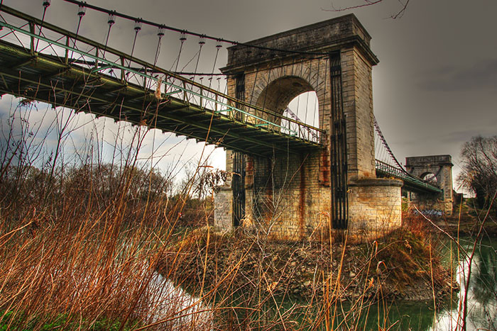 Autre vue du pont de Fourques