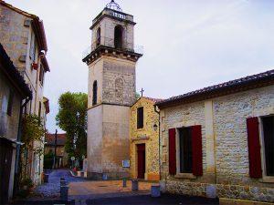 L' église de Fourques