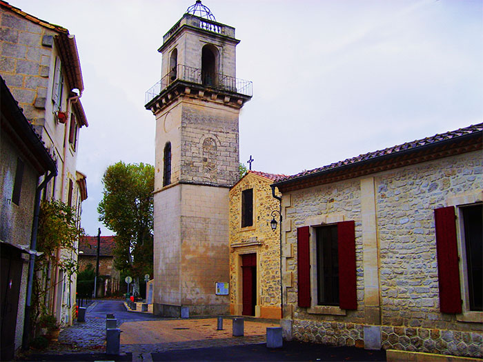 L' église de Fourques